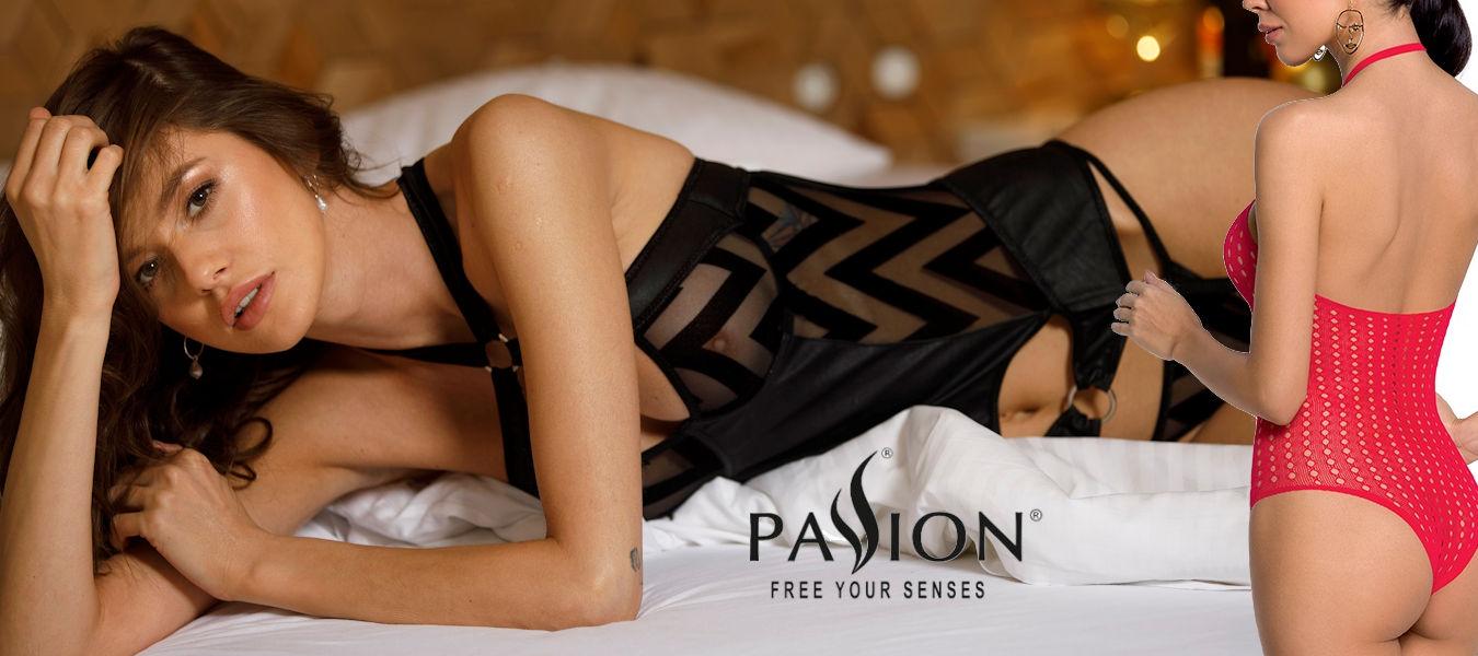 Passion - nyt læderlook & nye bodystockings